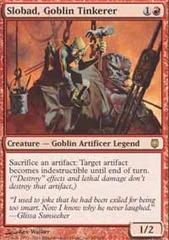 Slobad, Goblin Tinkerer - Foil