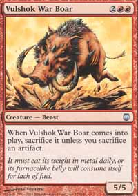 Vulshok War Boar - Foil