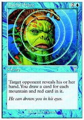 Baleful Stare - Foil on Channel Fireball