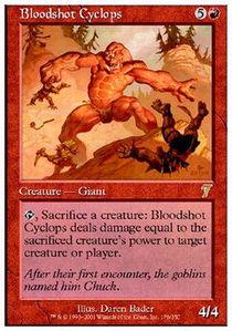 Bloodshot Cyclops - Foil