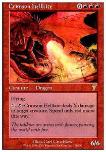 Crimson Hellkite - Foil