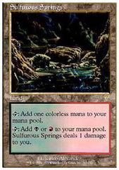 Sulfurous Springs - Foil