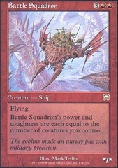Battle Squadron - Foil on Channel Fireball