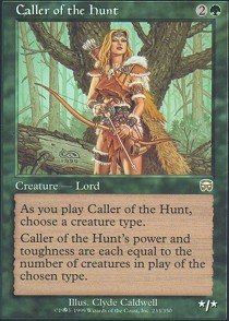 Caller of the Hunt - Foil