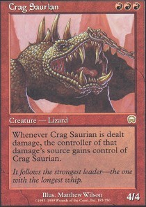 Crag Saurian - Foil