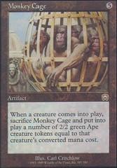 Monkey Cage - Foil