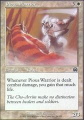 Pious Warrior - Foil