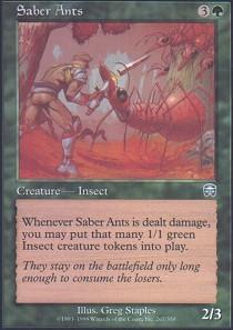 Saber Ants - Foil