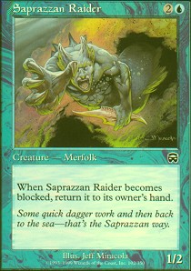 Saprazzan Raider - Foil