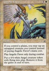 Angelic Favor - Foil on Channel Fireball