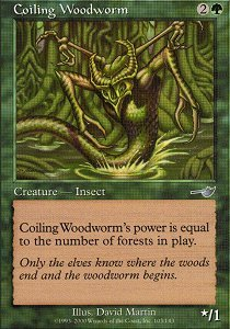 Coiling Woodworm - Foil