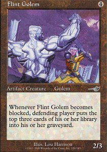 Flint Golem - Foil