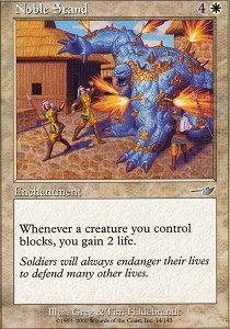 Noble Stand - Foil