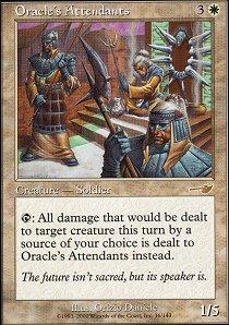 Oracles Attendants - Foil