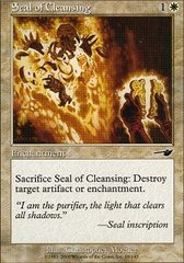 Seal of Cleansing - Foil