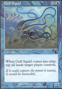 Gulf Squid - Foil