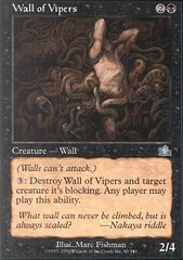Wall of Vipers - Foil