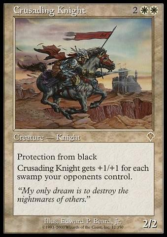 Crusading Knight - Foil