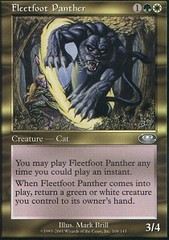 Fleetfoot Panther - Foil