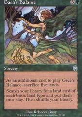Gaea's Balance - Foil