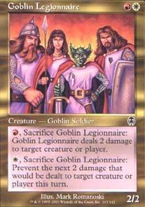 Goblin Legionnaire - Foil