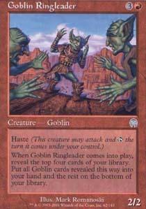Goblin Ringleader - Foil
