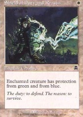 Shield of Duty and Reason - Foil