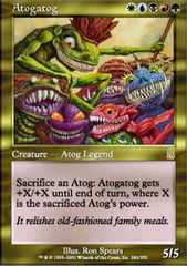 Atogatog - Foil on Channel Fireball