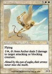 Aven Archer - Foil on Channel Fireball