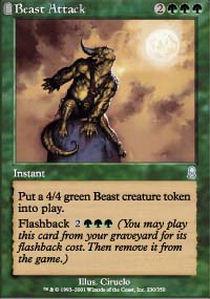Beast Attack - Foil