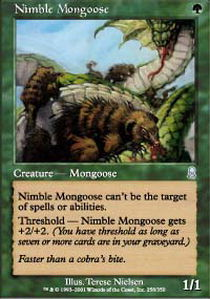 Nimble Mongoose - Foil
