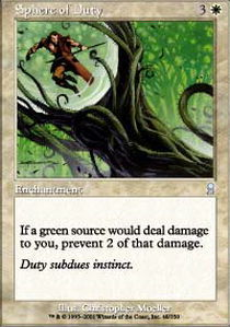 Sphere of Duty - Foil
