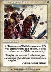 Testament of Faith - Foil