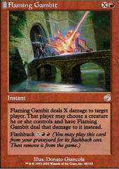 Flaming Gambit - Foil