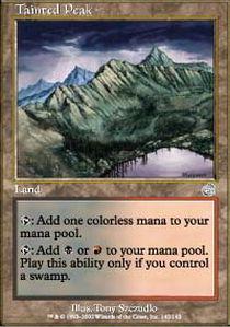 Tainted Peak - Foil