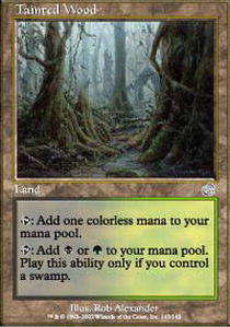 Tainted Wood - Foil