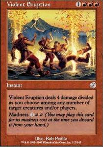 Violent Eruption - Foil