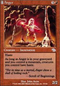 Anger - Foil