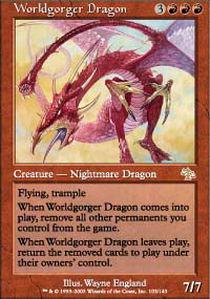 Worldgorger Dragon - Foil