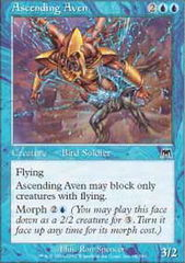 Ascending Aven - Foil on Channel Fireball