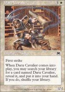 Daru Cavalier - Foil