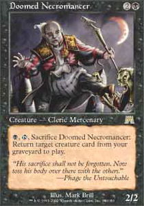 Doomed Necromancer - Foil