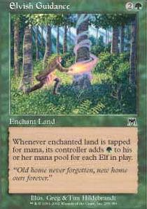 Elvish Guidance - Foil