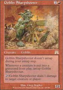 Goblin Sharpshooter - Foil