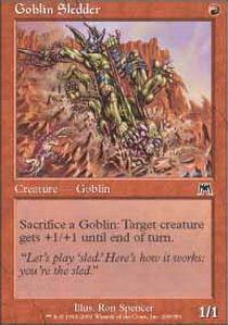 Goblin Sledder - Foil