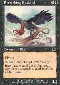 Screeching Buzzard - Foil