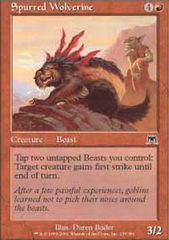 Spurred Wolverine - Foil