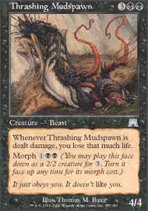 Thrashing Mudspawn - Foil