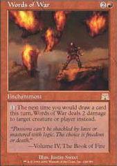 Words of War - Foil