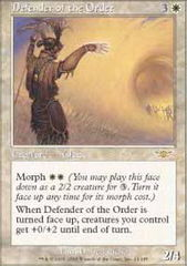Defender of the Order - Foil on Channel Fireball